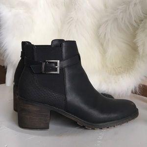 Super stylish Sugar Avery black ankle boots